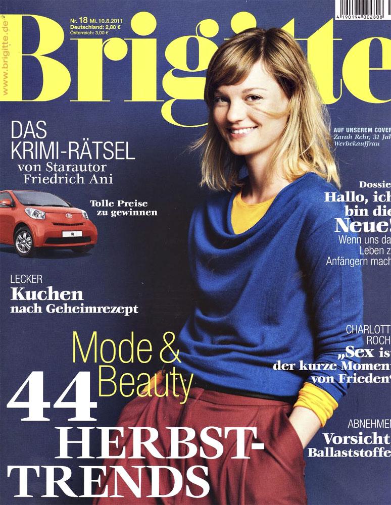 Iris Kalkreuter Brigitte Cover